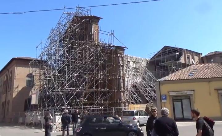"""La ricostruzuione """"lenta"""" a Mirandola"""