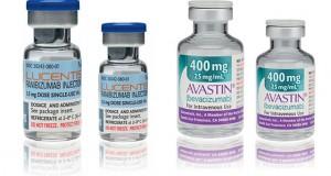 I due farmaci a confronto, Avastin e Lucentis