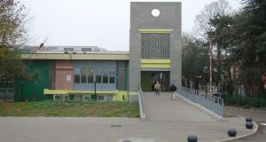 L'ingresso dell'ospedale di Mirandola