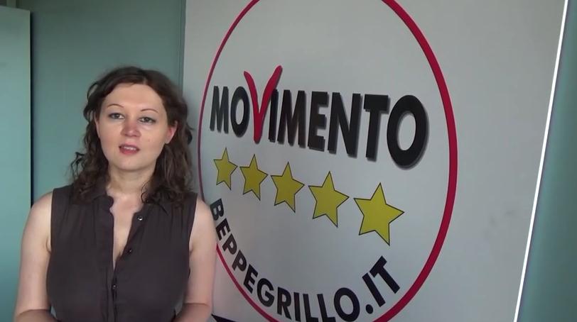 Giulia Gibertoni, capogruppo M5S in Regione.