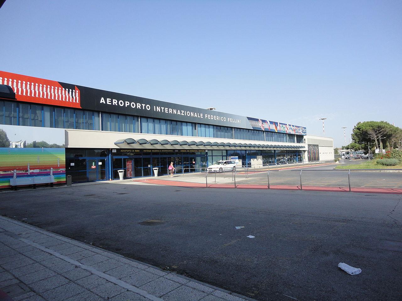 L'aeroporto di Rimini