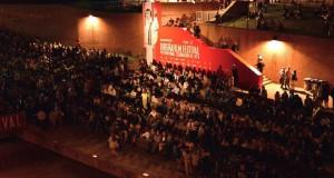 Un immagine dell'edizione 2015 del Biografilm Festival a Bologna
