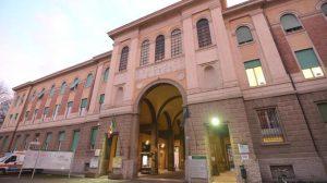 L'ingresso dell'ospedale  Sant'Orsola di Bologna