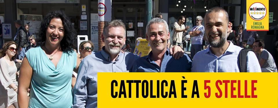 Mariano Gennari con Raffaella Sensoli, Gianluca Sassi ed Andrea Bertani