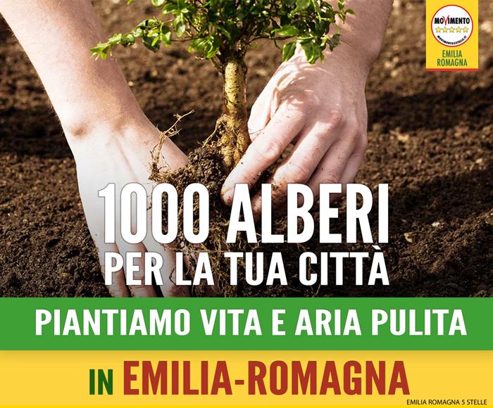 MilleAlberi-Emilia-RomagnaM5S